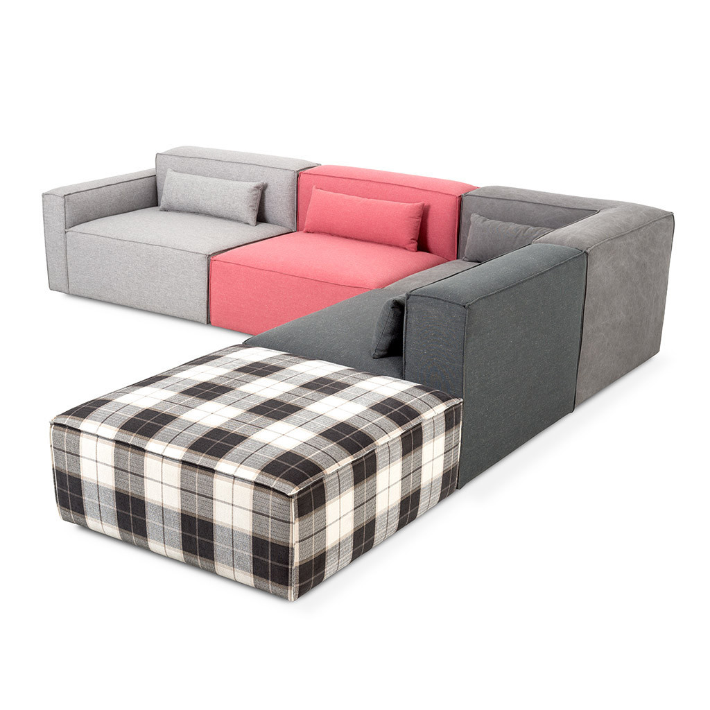 Mix modular sofa sectional hip for Sectional furniture