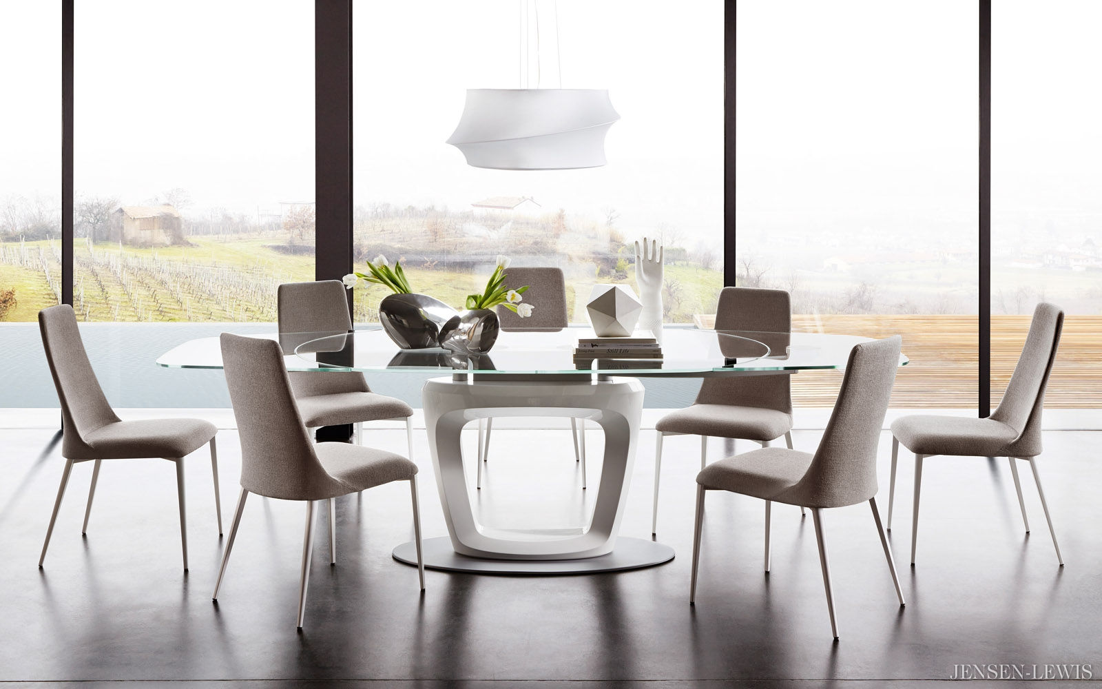 holidayworthy dining furniture by calligaris  hip furniture - calligarisfurnitureorbitalextensiondiningtable