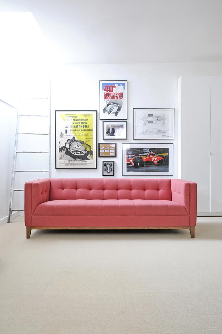 Atwood Sofa - Berkeley Coral - L01-2